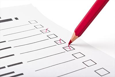 2.問診票の記載